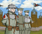 Army soldiers (modern medieval)