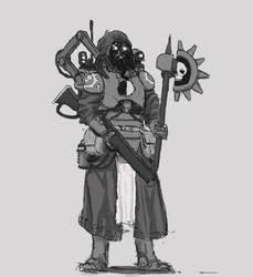 Combat Engineseer- gray
