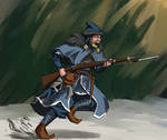 fixed bayonet by YourLocalTechpriest