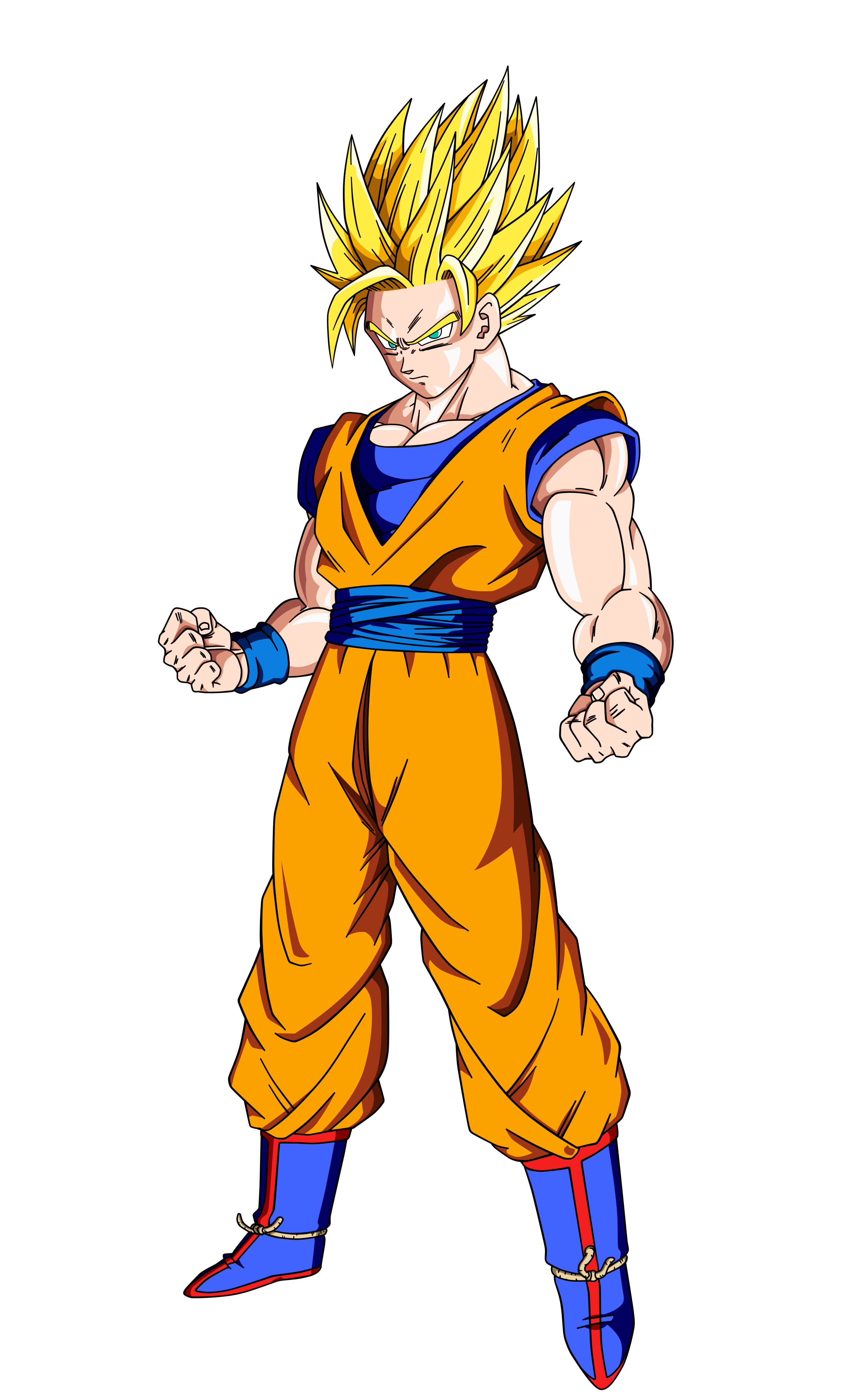 Son Goku SSJ2 Colo By Kyubi1999 On DeviantArt