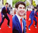 Darren Criss at HP Premiere