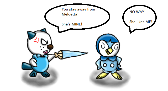 For the love of Meloetta by PokeSonFanGirl on DeviantArt