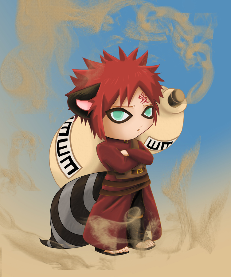 Gaara Of The Sand By Katsuke-artwork On DeviantArt