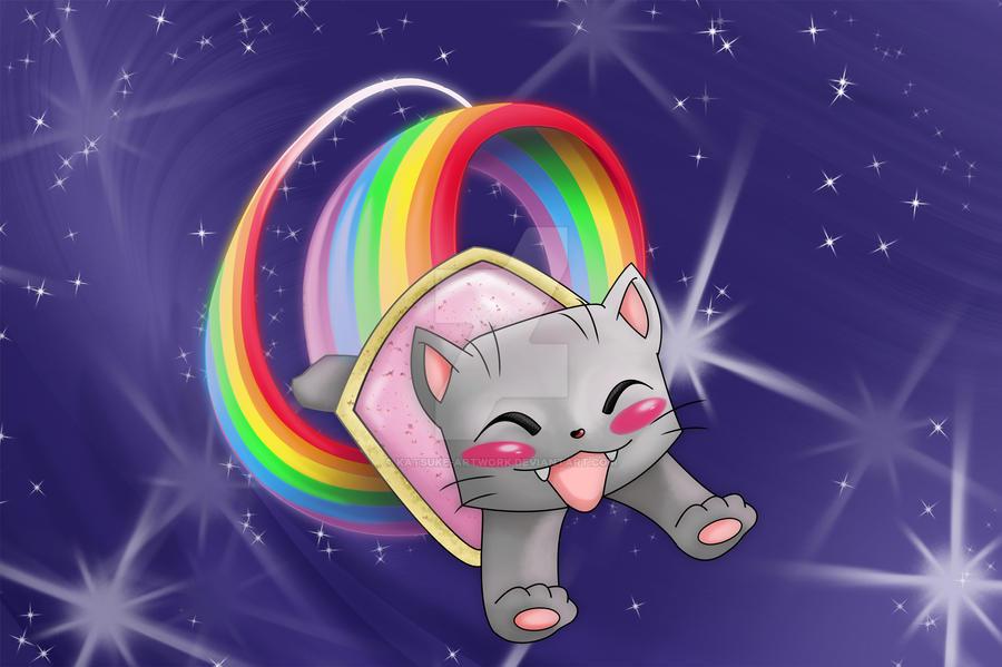 Nyan Cat Cute Wallpaper