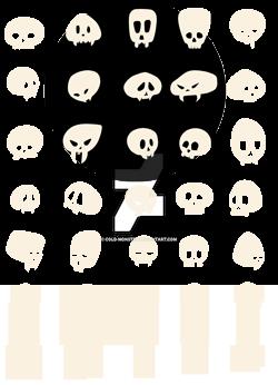 Skulls-pattern by cold-monster
