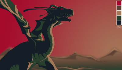 palette5 Dragon Sunset by cold-monster