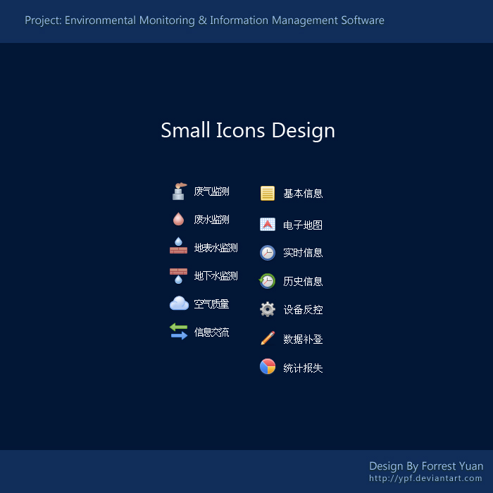 Small Icons Design by ypf