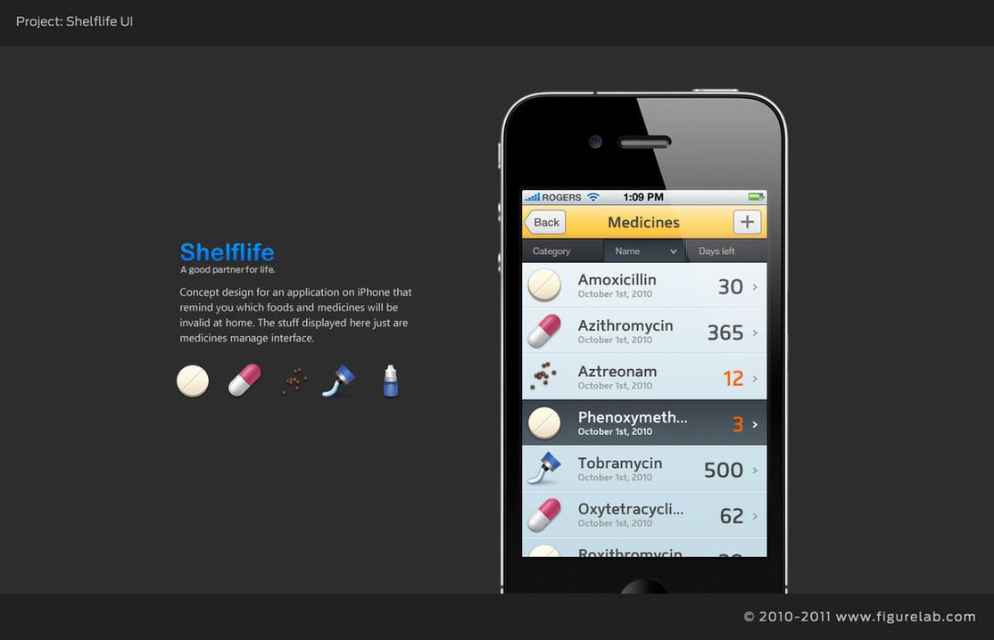 Shelf UI by ypf