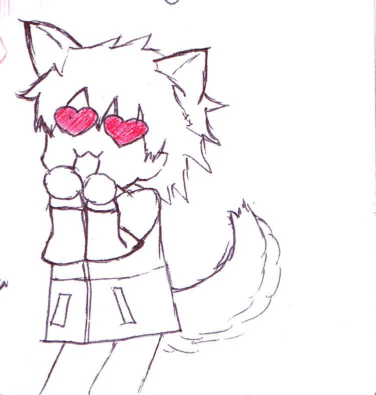 Anime Eye Shapes The Dog With Heart Shaped Eyes