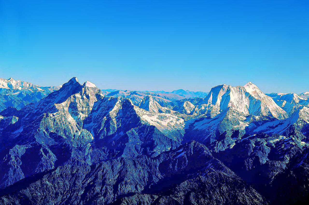 Himalaya Mountains 5 by CitizenFresh on DeviantArt