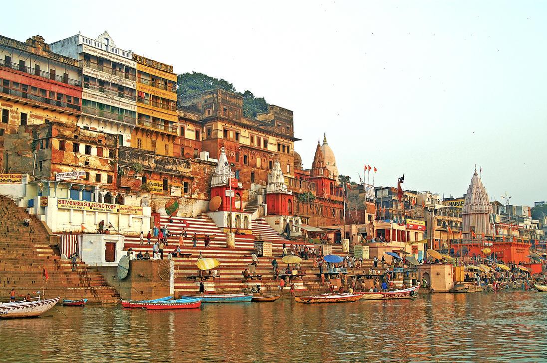 Morning in Varanasi India by CitizenFresh