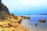 Stones Beach Greece