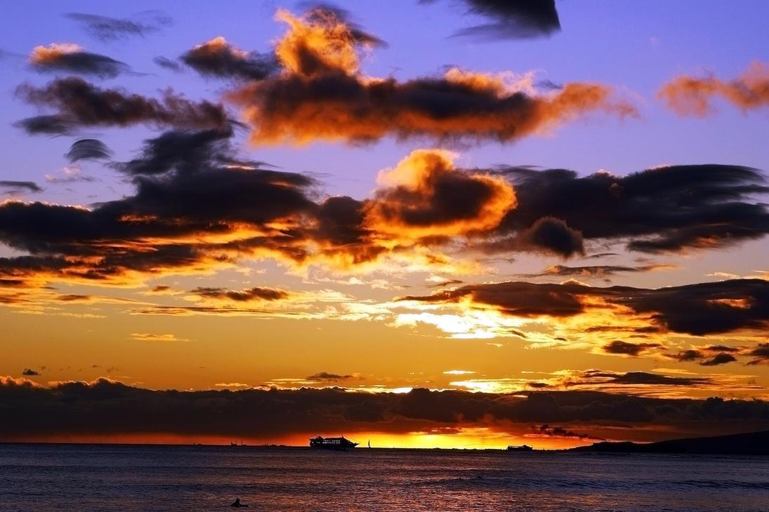 Hawaiian  Sunset 7 by CitizenFresh