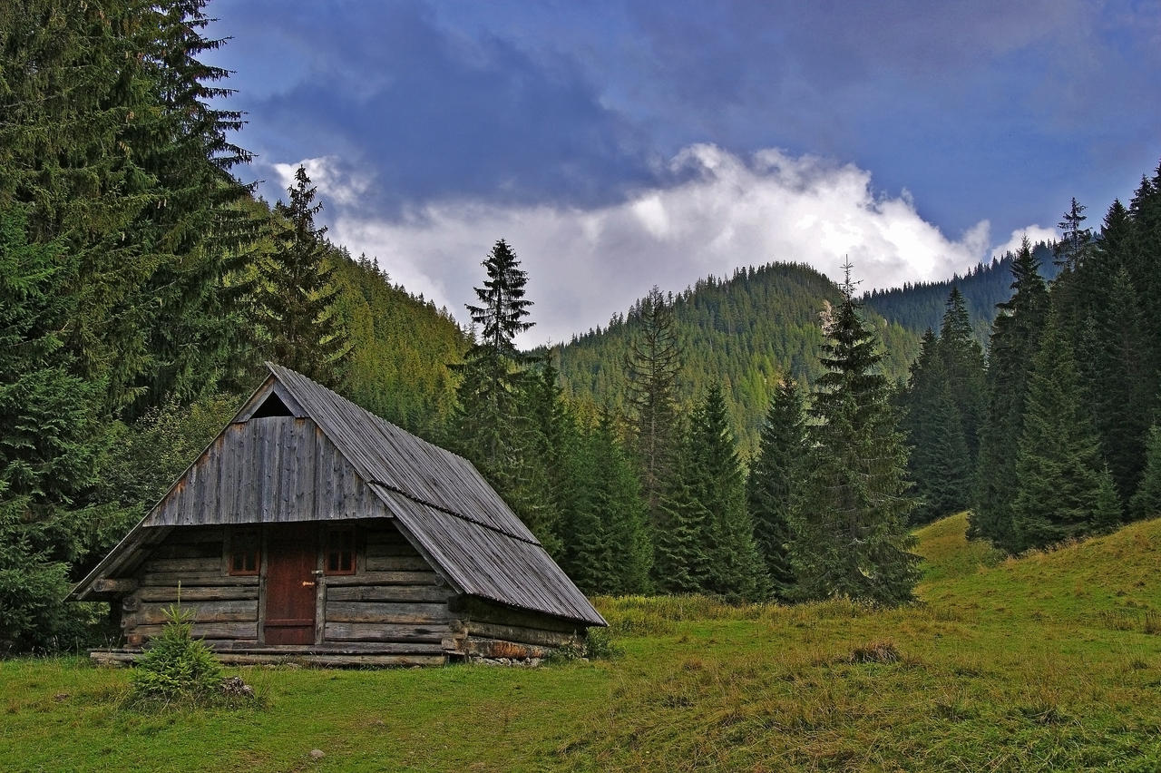 Old mountain house by citizenfresh on deviantart - House in the mountains ...