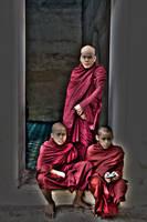 Burma  Monks by CitizenFresh