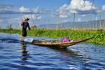 Inle  Lake Boatman by CitizenFresh