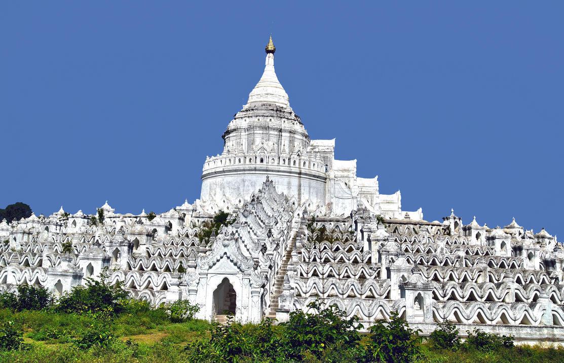 Hsinbyume Pagoda By Citizenfresh On Deviantart