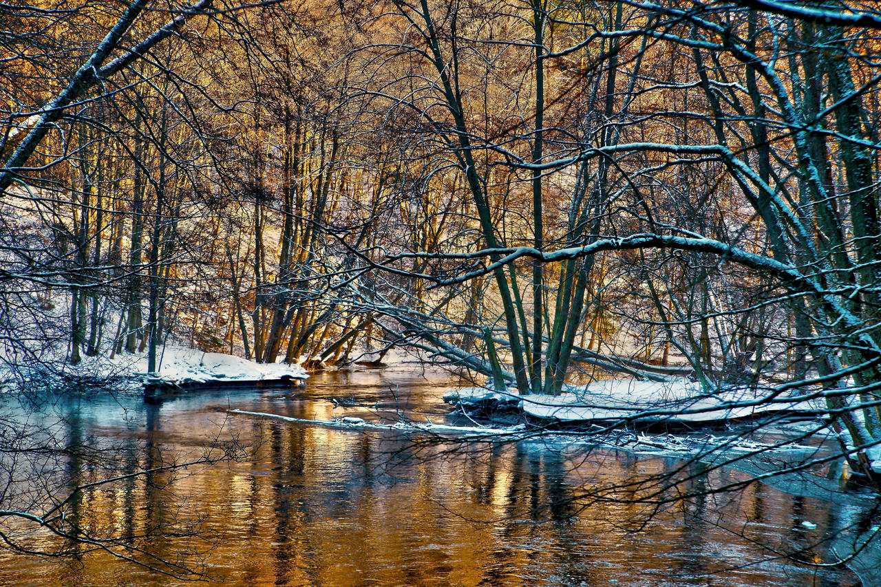 Golden  River 1 by CitizenFresh