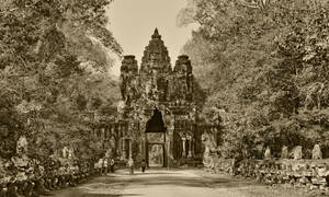 Angkor  Thom 1 by CitizenFresh