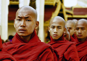 Buddhist  Monks 1 by CitizenFresh