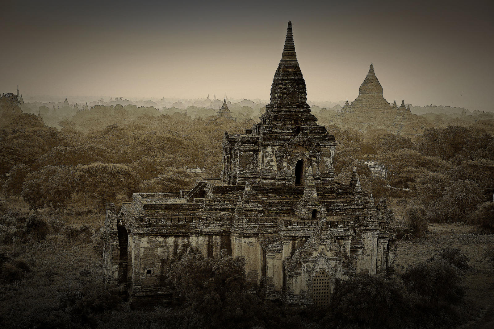 Bagan Temples by CitizenFresh