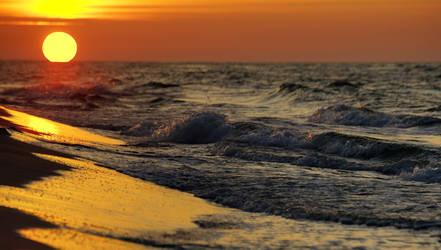 Sunset Over Baltic Sea 2 by CitizenFresh