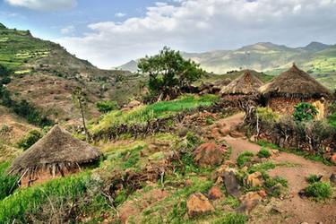 Ethiopian  Village by CitizenFresh