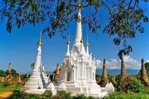 Shwe Indein Stupa 6 by CitizenFresh