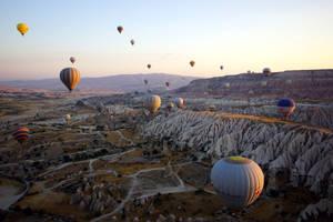Balloons over Cappadocia 2