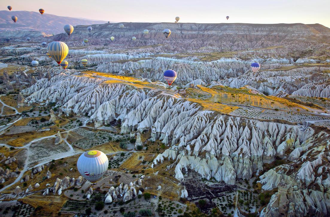 Balloons over Cappadocia 3 by CitizenFresh