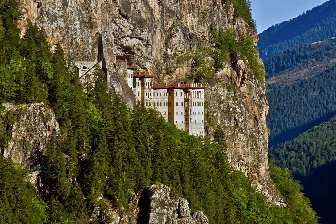 Sumela Monastery by CitizenFresh on DeviantArt