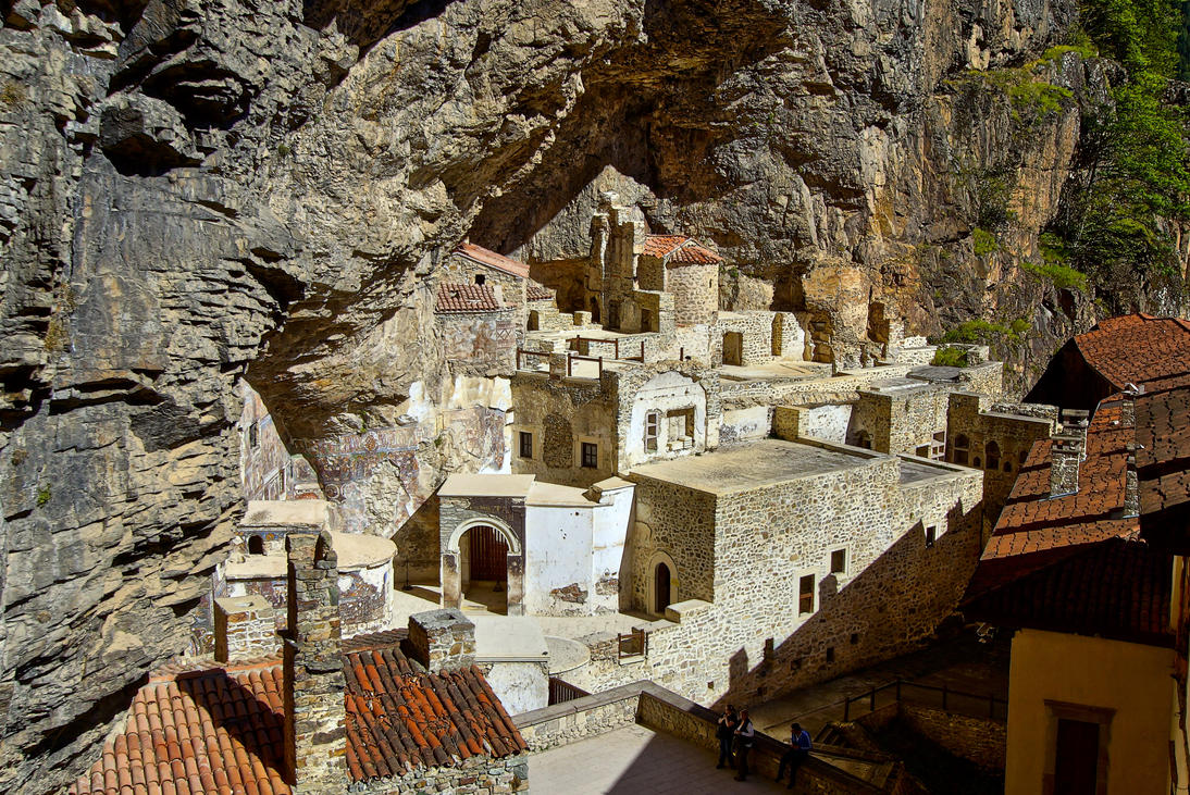 Sumela Monastery 2 by CitizenFresh