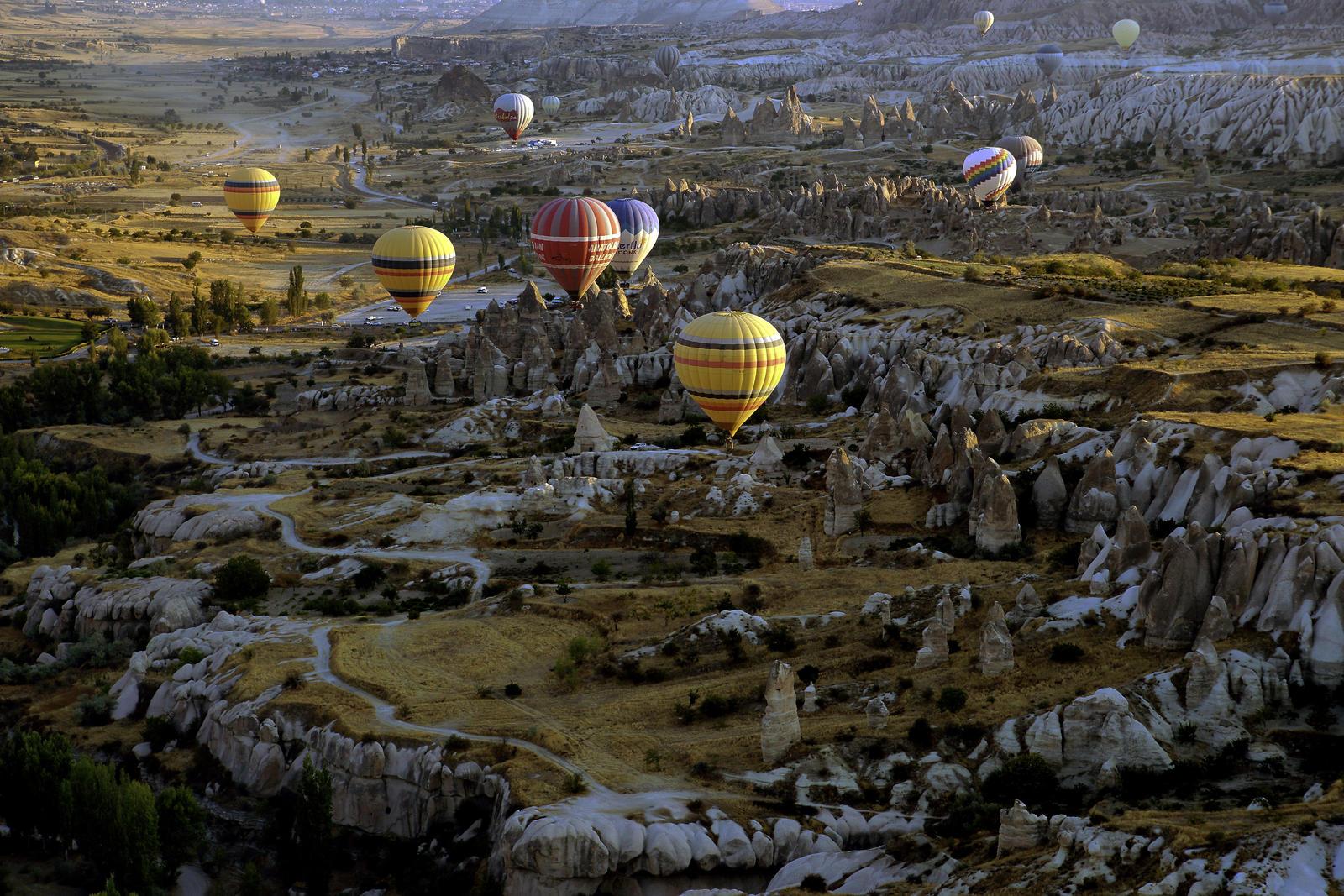 Sunrise over Cappadocia 2 by CitizenFresh