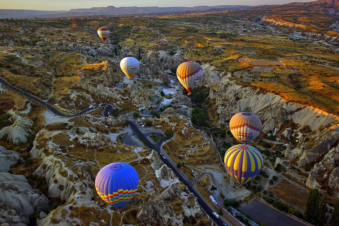Sunrise over Cappadocia 5 by CitizenFresh