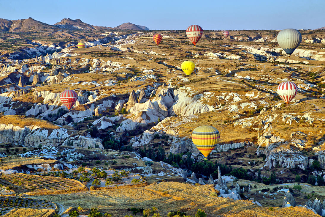 Sunrise over Cappadocia 8 by CitizenFresh