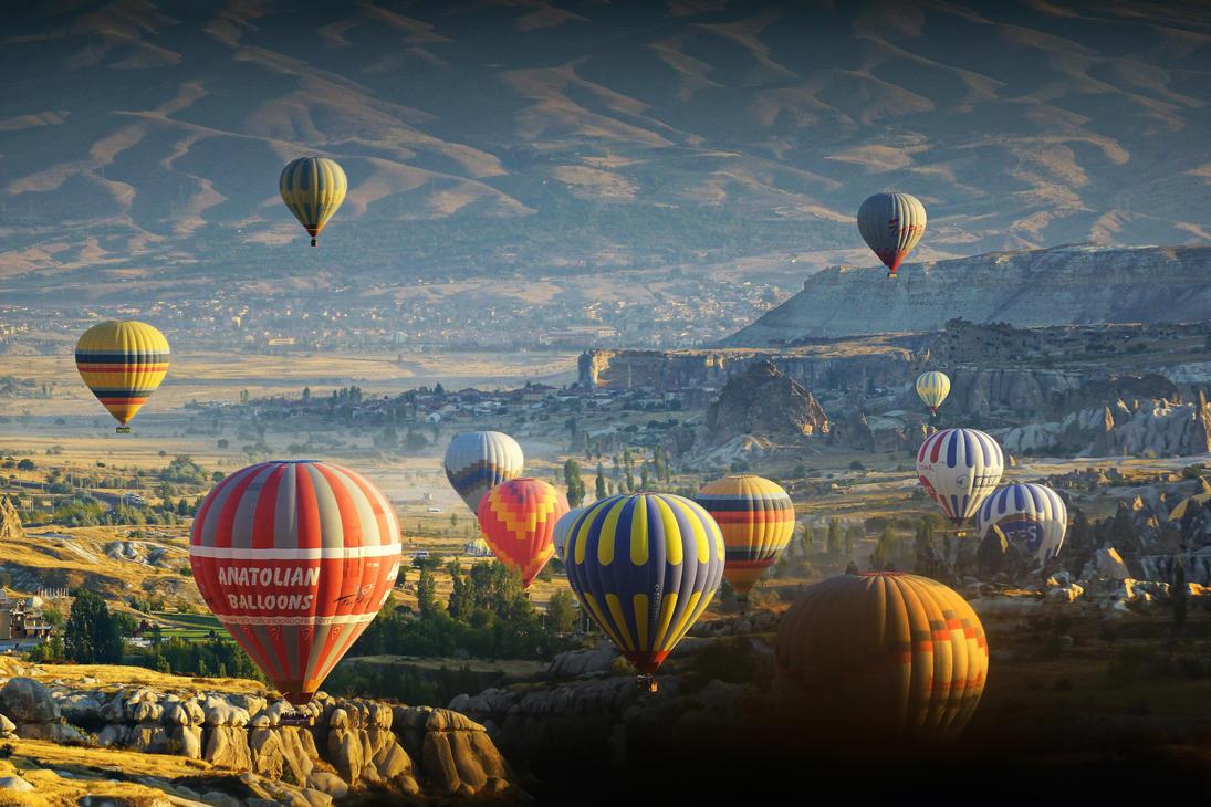 Sunrise over Cappadocia 9 by CitizenFresh