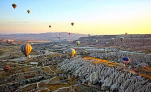 Sunrise over Cappadocia 11