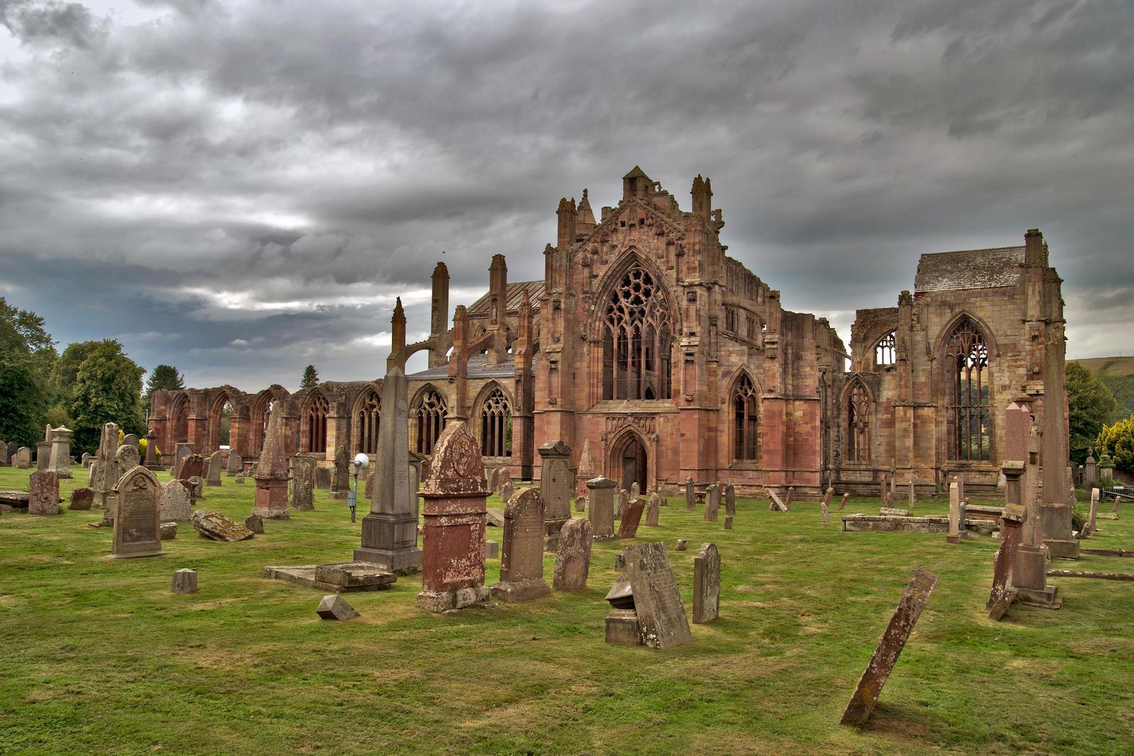 Melrose  Abbey by CitizenFresh
