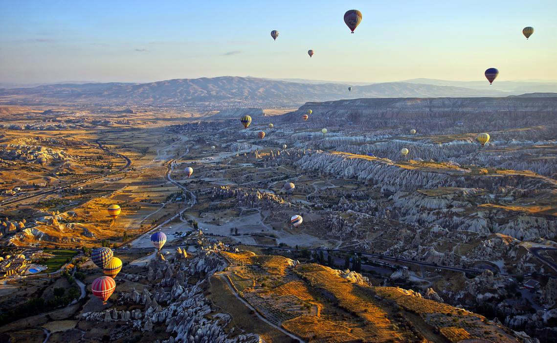 Sunrise over Cappadocia 12 by CitizenFresh