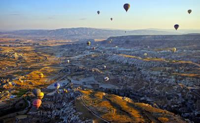 Sunrise over Cappadocia 12