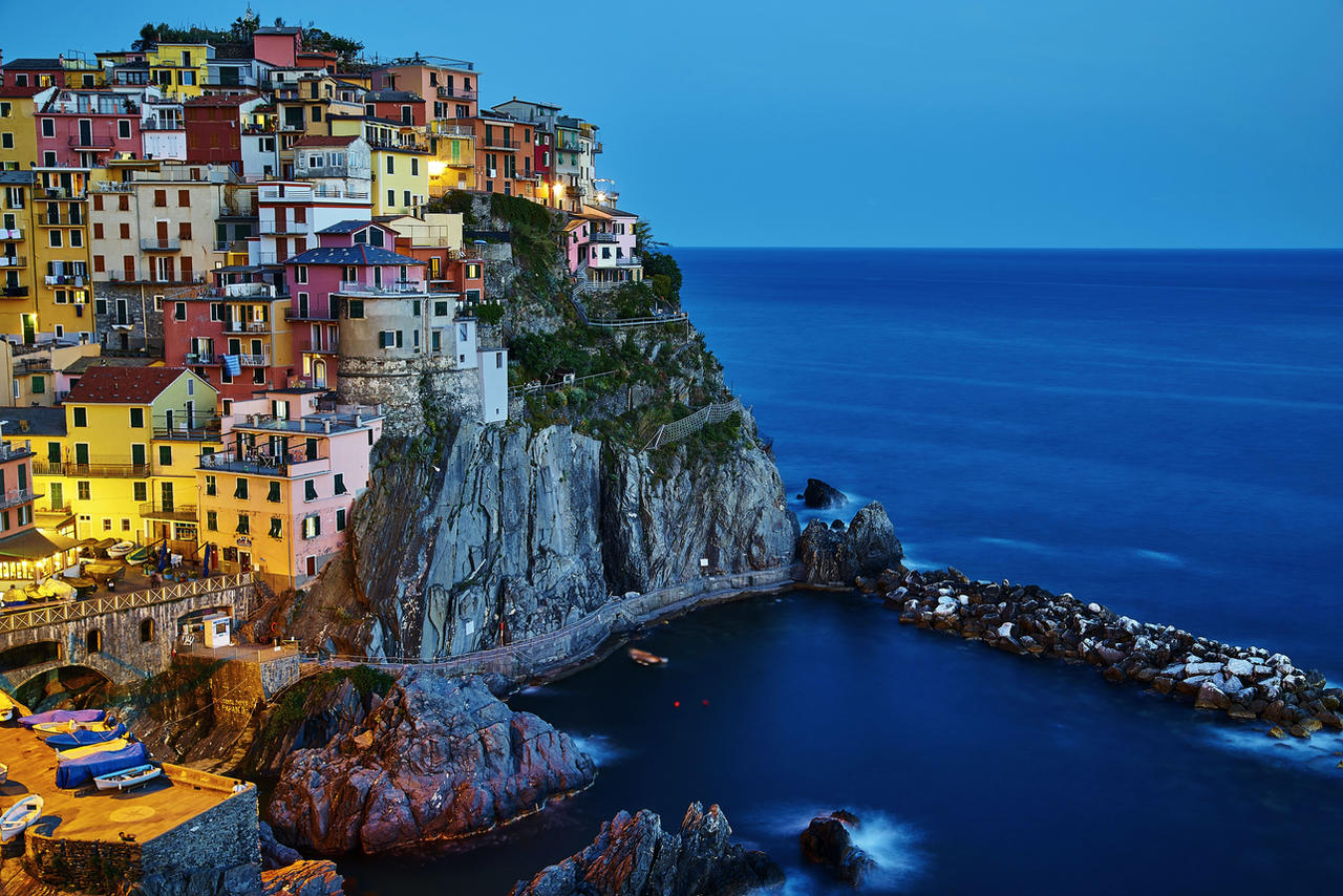 Evening In  Manarola by CitizenFresh