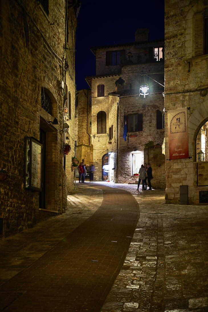 Streets of Assisi by CitizenFresh