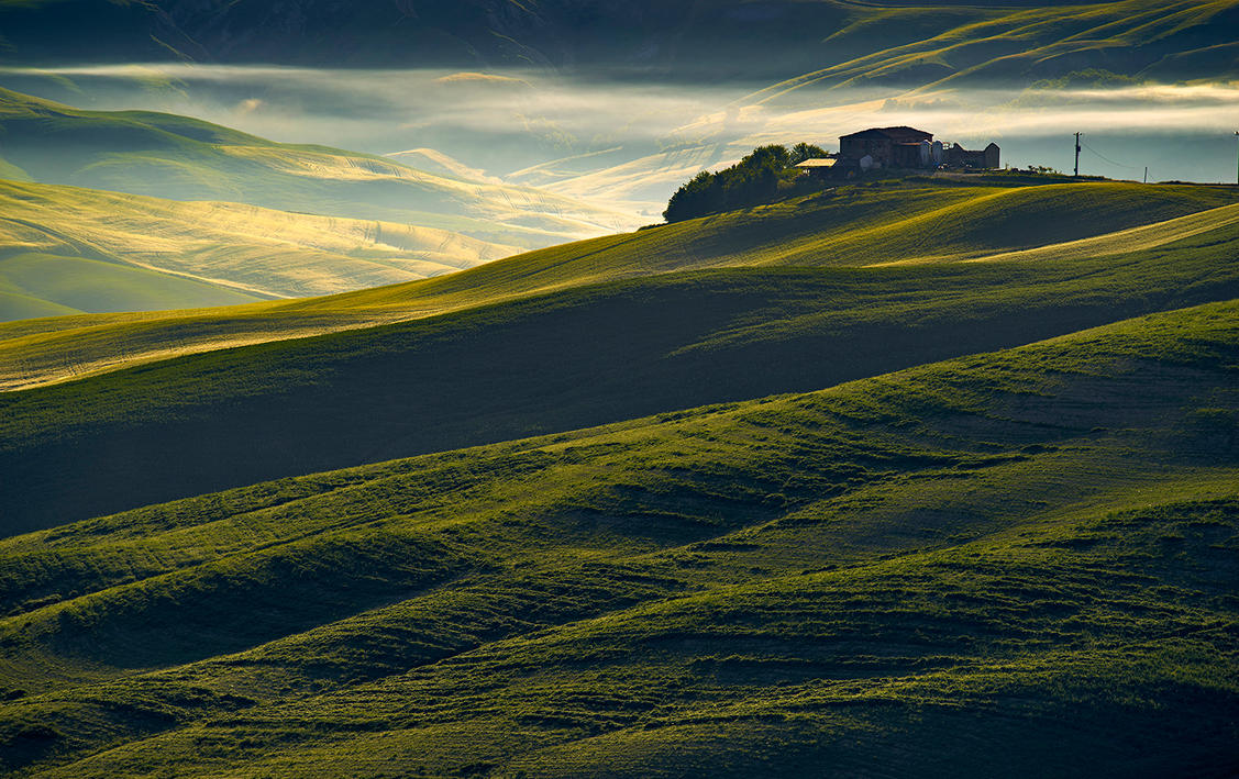 Val d'Orcia  12 by CitizenFresh