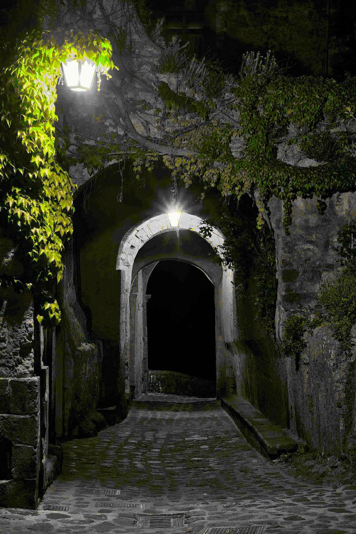 Streets of Civita di Bagnoregio 3 by CitizenFresh