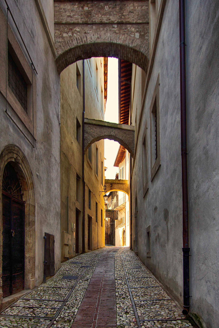 Streets of Spoleto by CitizenFresh