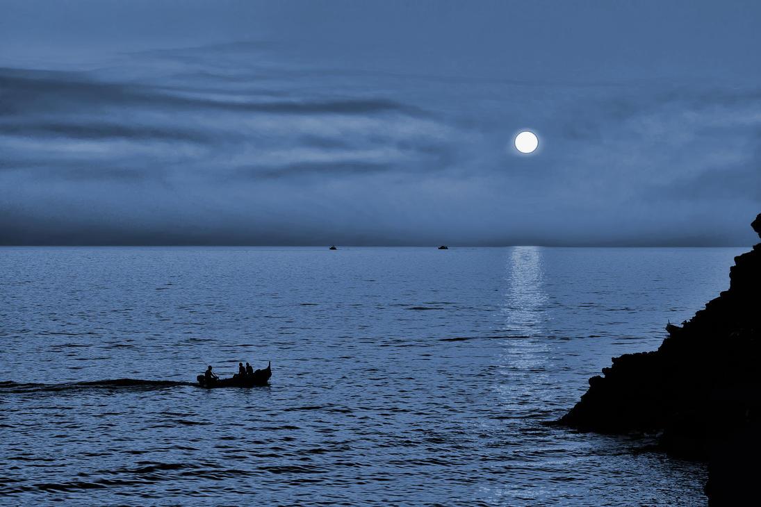 Evening on the Ligurian Sea by CitizenFresh