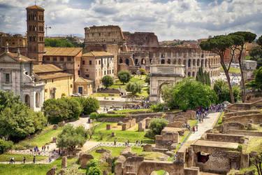 Forum Romanum 4 by CitizenFresh