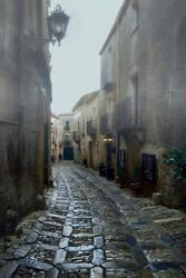 Rainy day in Sicily