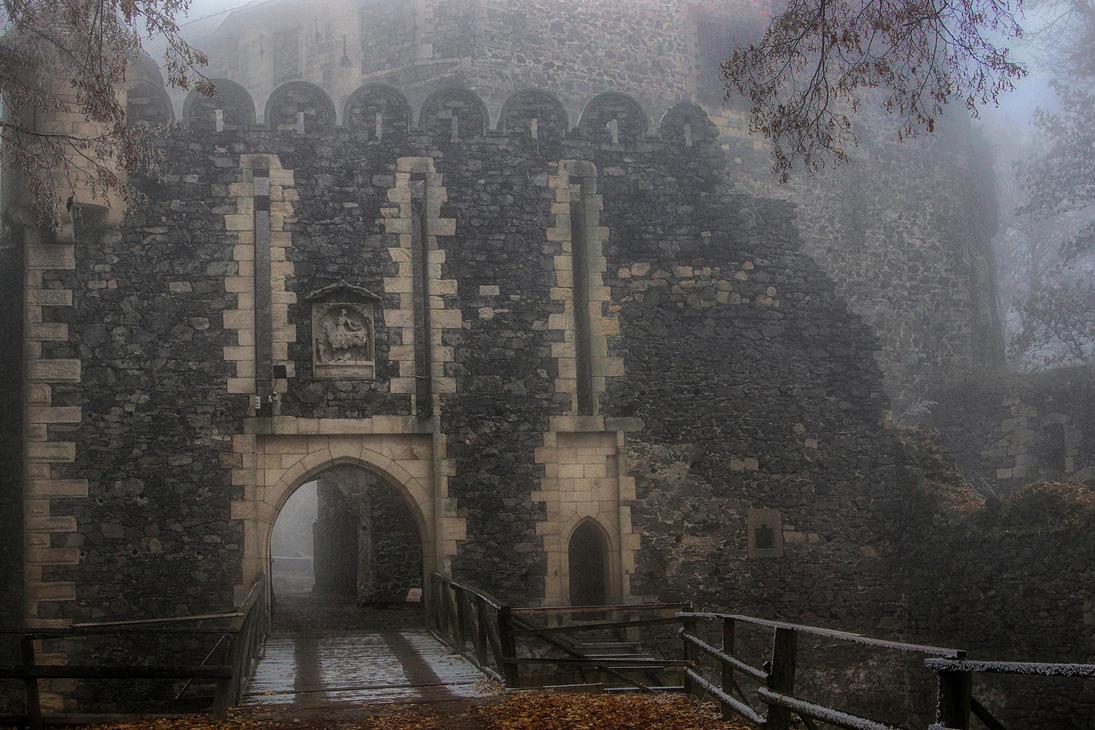Grodziec Castle In Winter 10 by CitizenFresh
