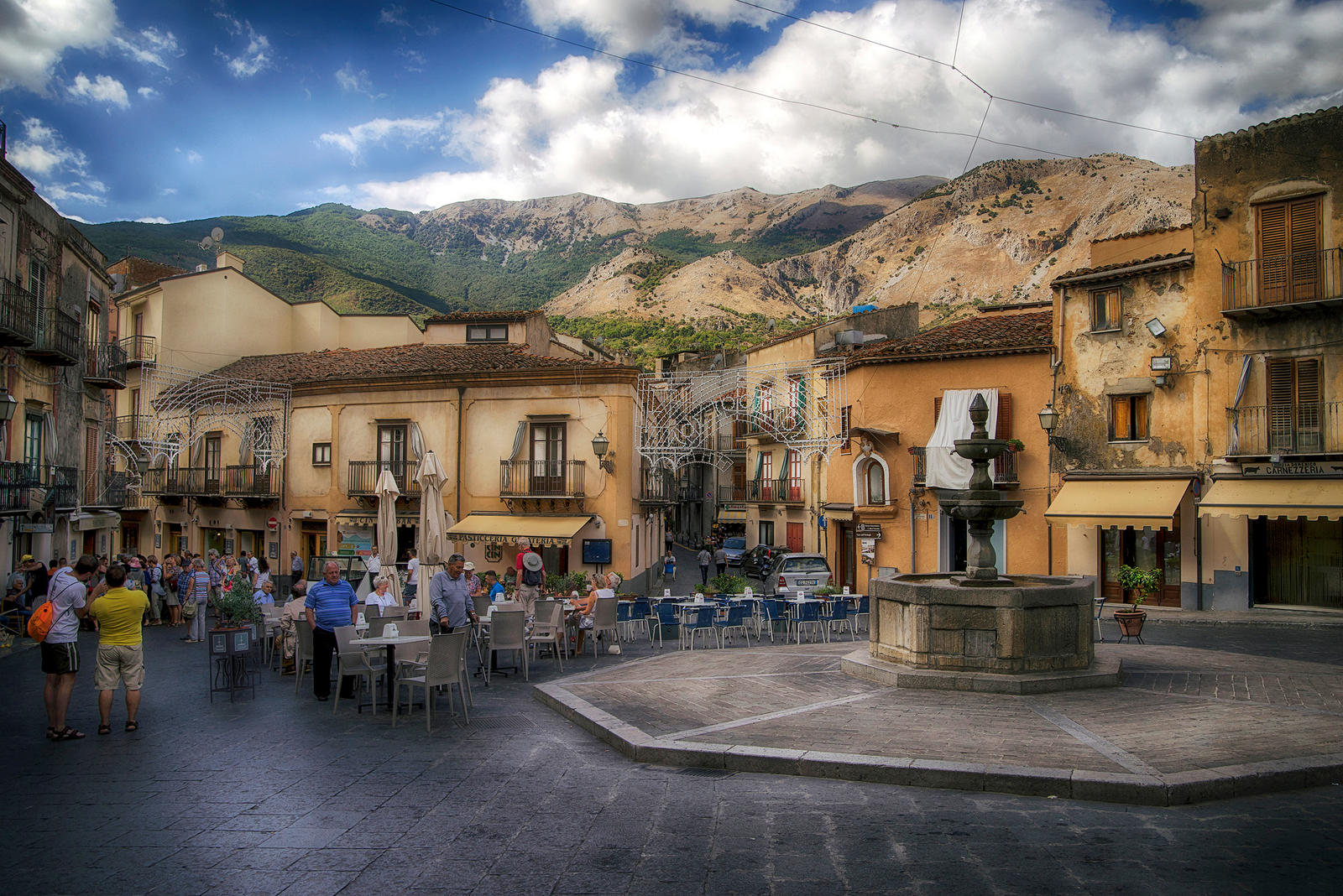 Castelbuono in the Madonie Mountains